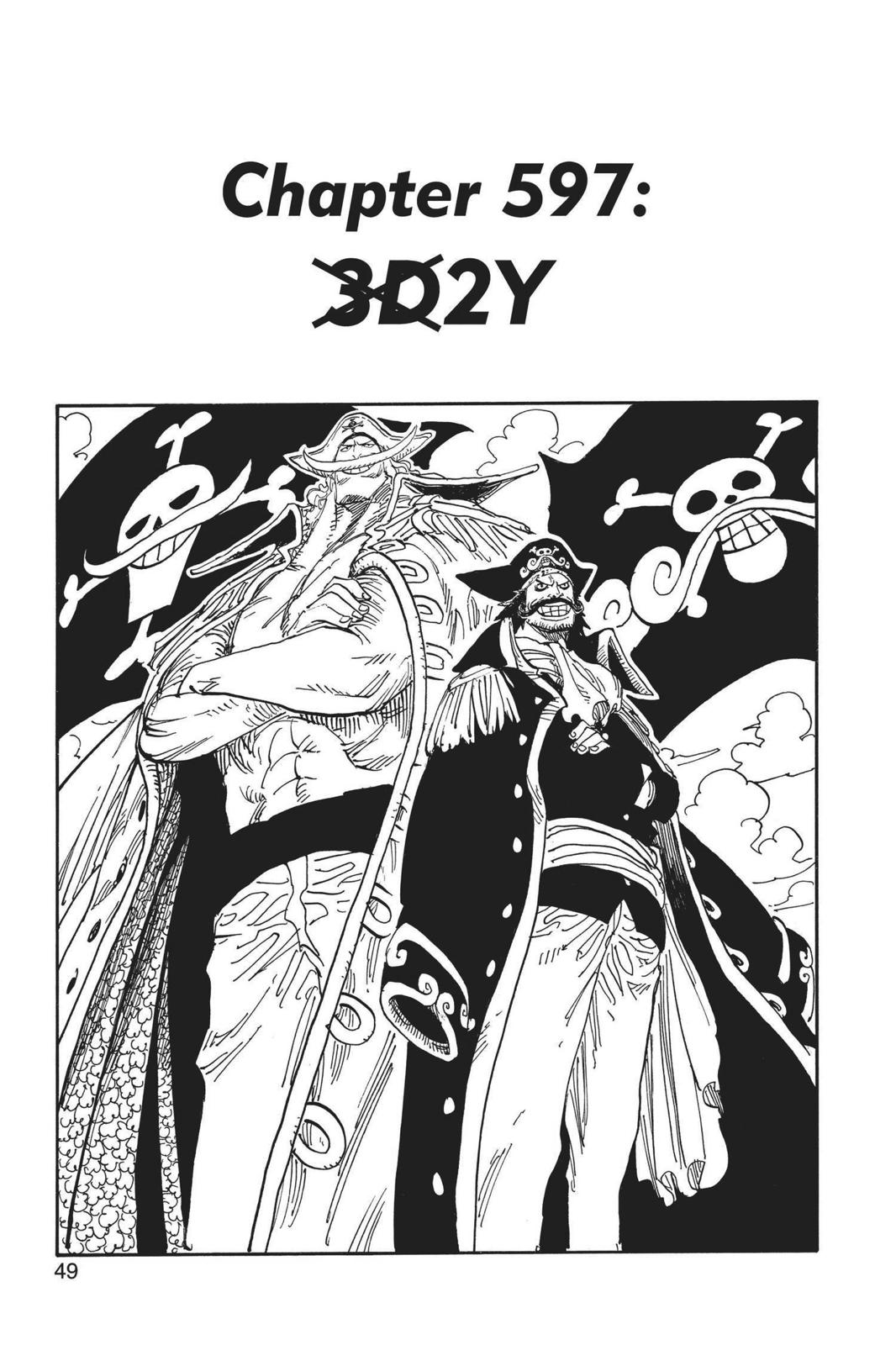 One Piece, Chapter 597 image 001