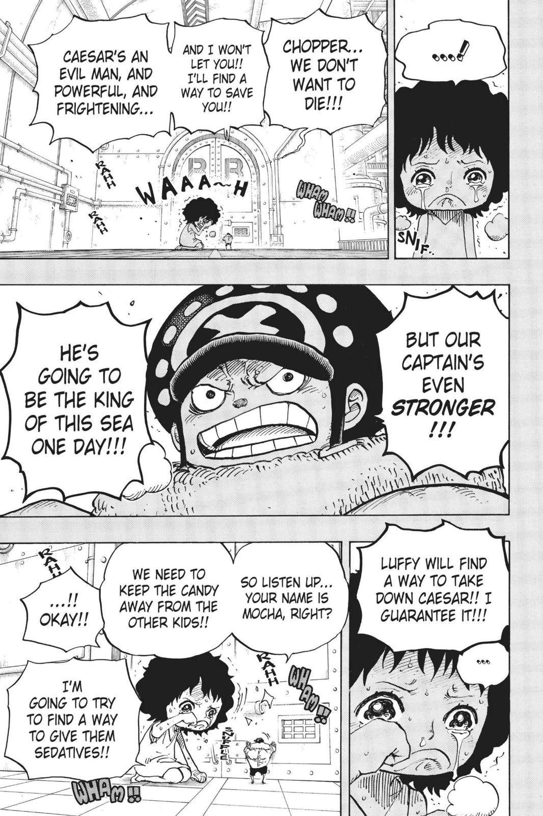 One Piece, Chapter 688 image 013