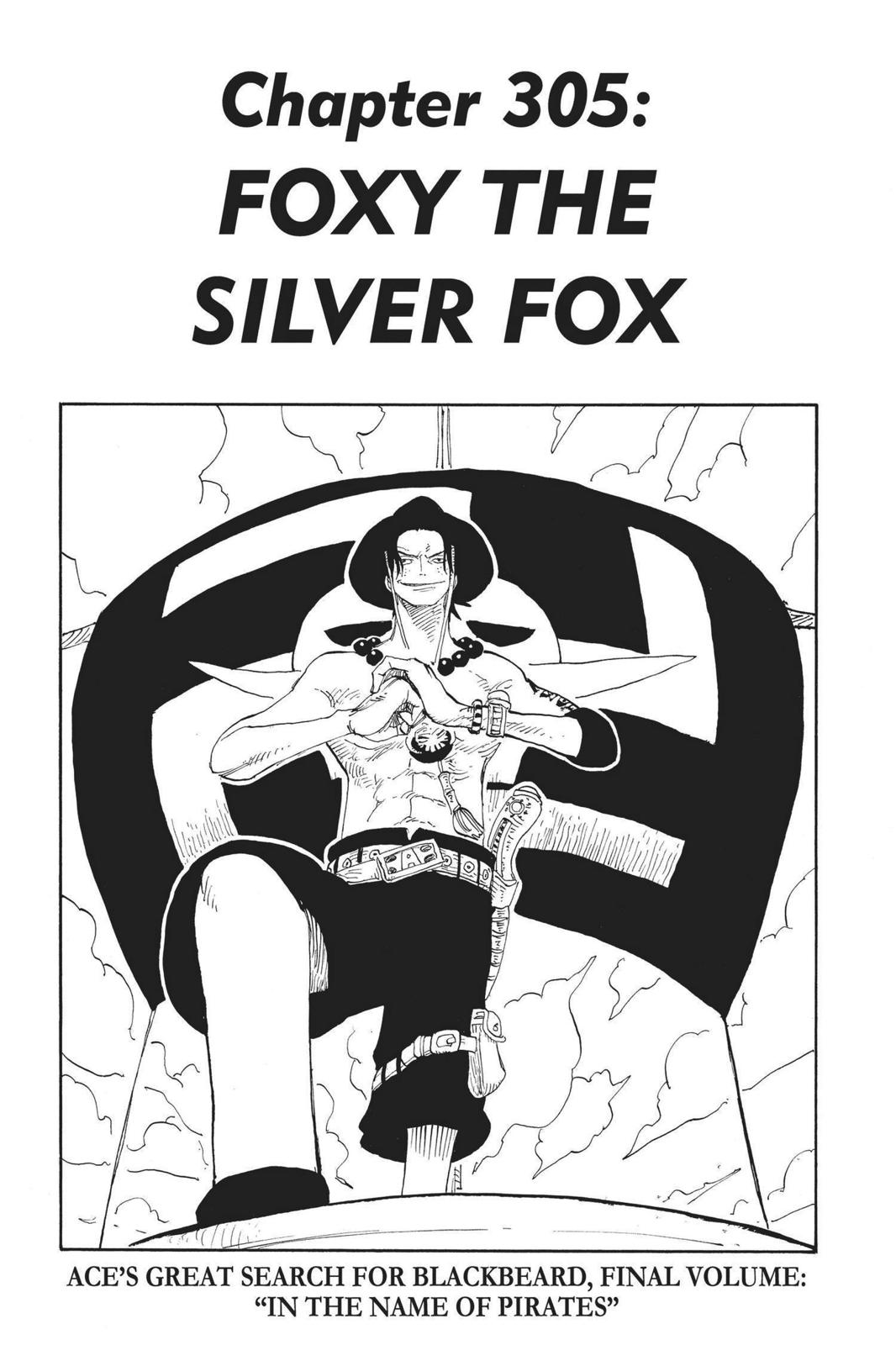 One Piece, Chapter 305 image 001