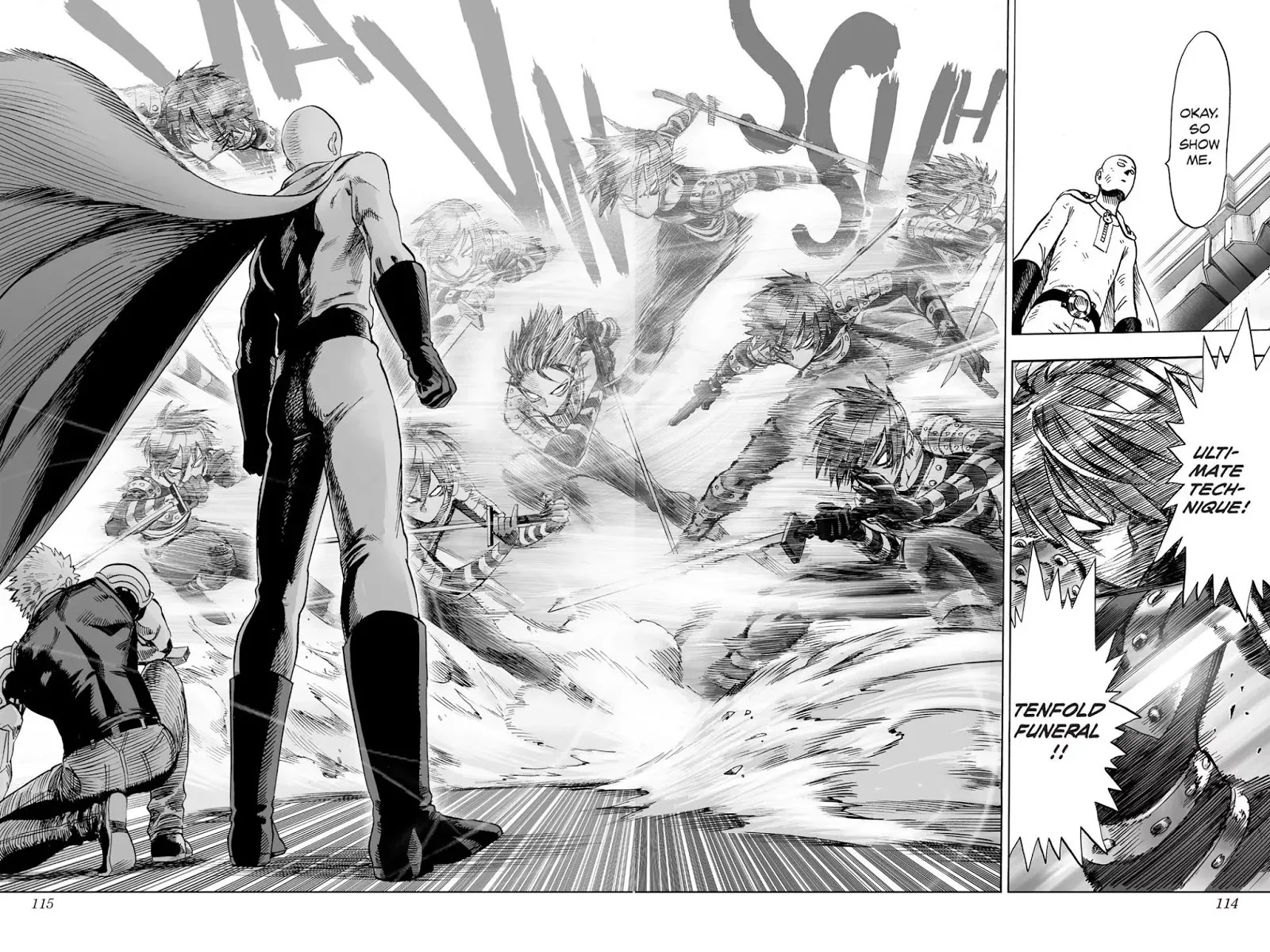 One Punch Man, Chapter Onepunch-Man 44 image 027
