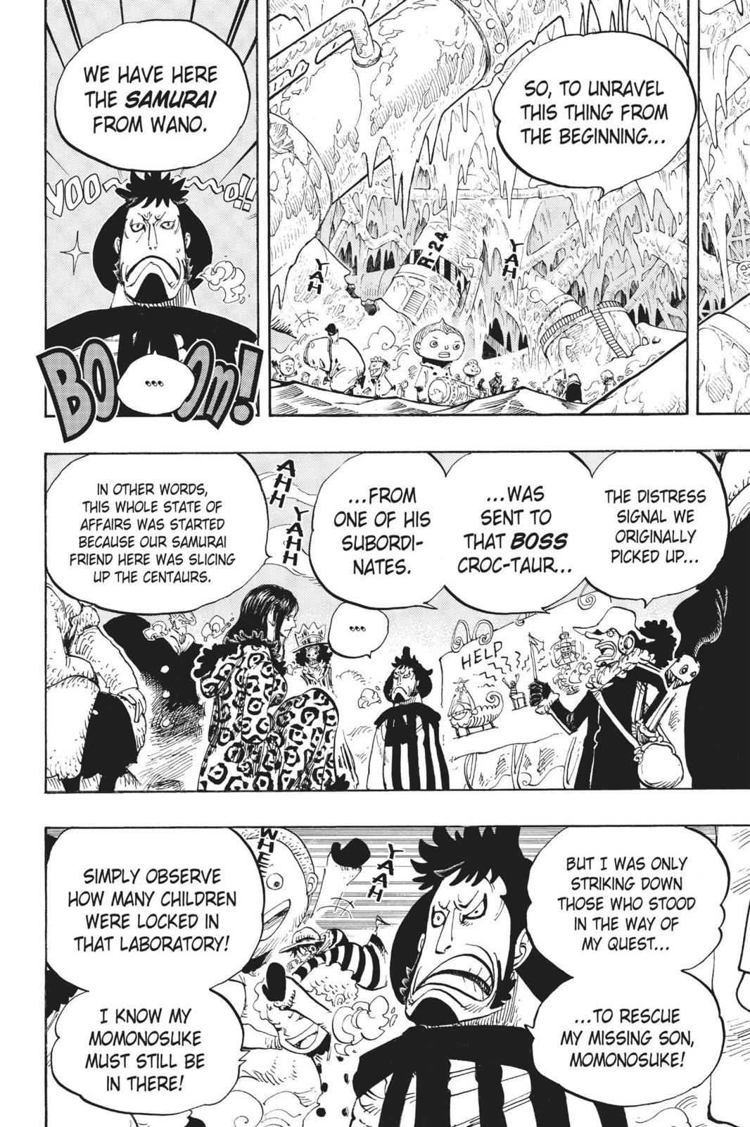 One Piece, Chapter 663 image 016