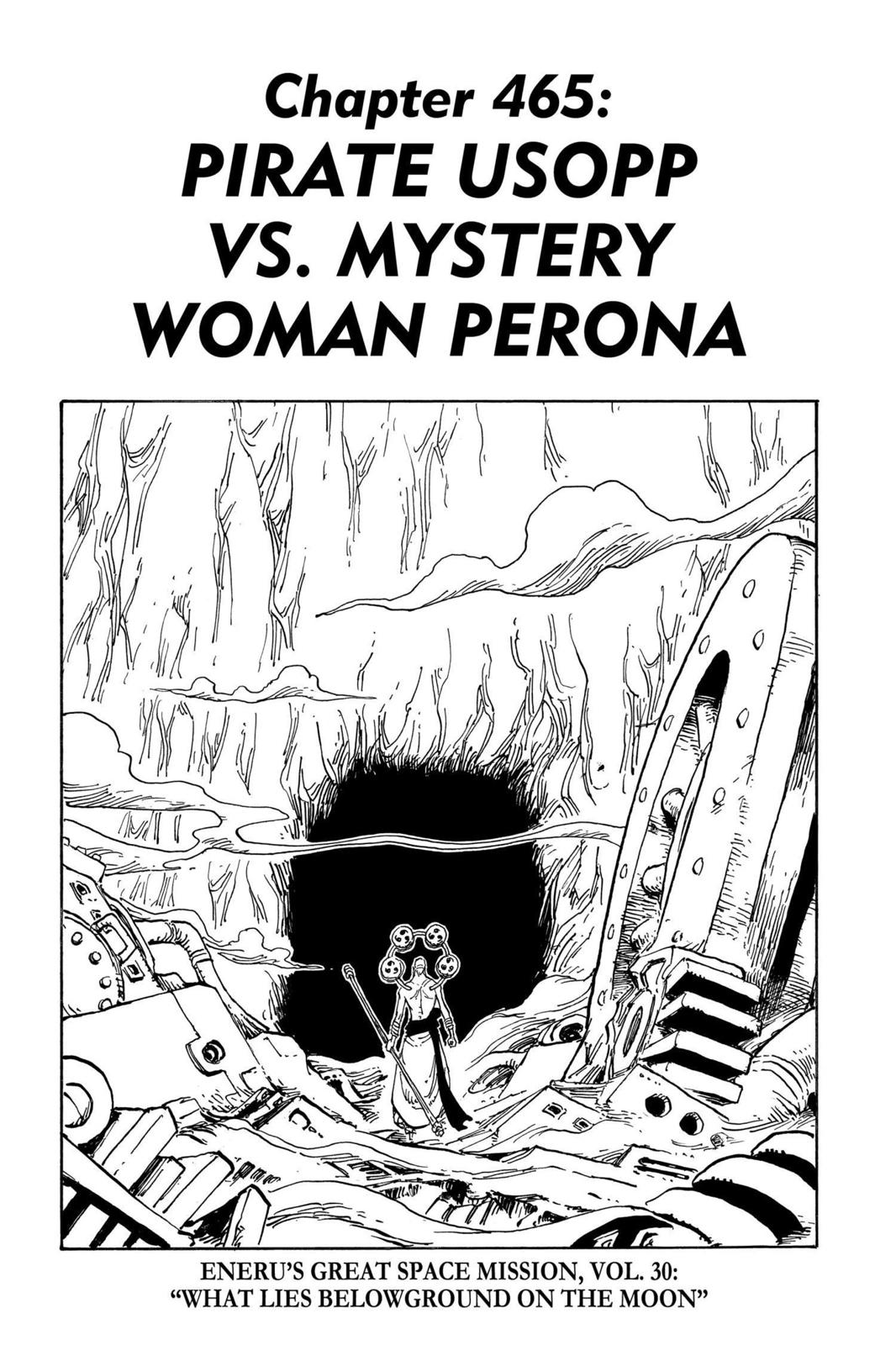 One Piece, Chapter 465 image 001