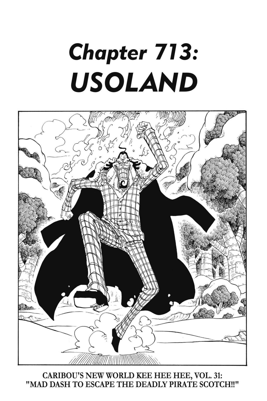 One Piece, Chapter 713 image 001