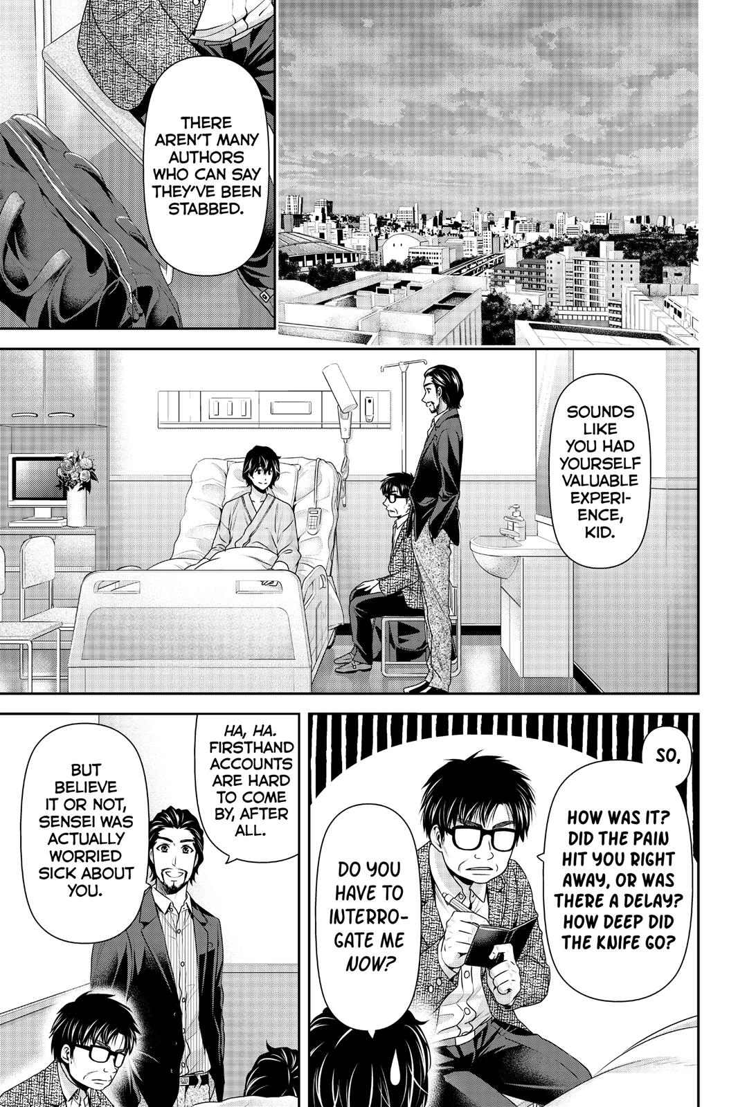 Domestic Na Kanojo, Chapter 189 image 005