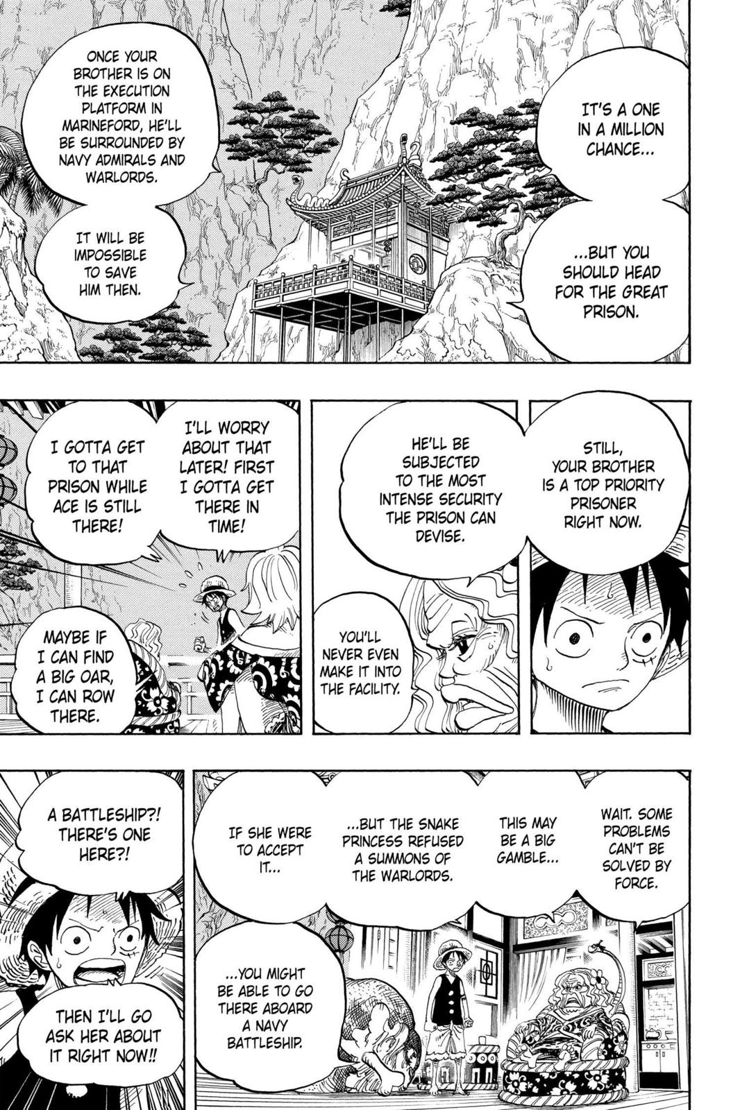 One Piece, Chapter 522 image 013