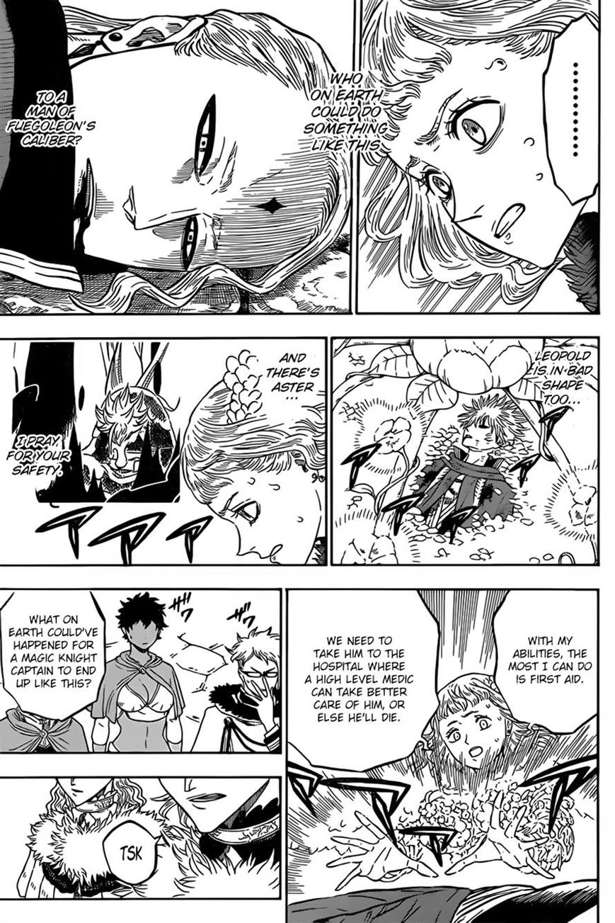 Black Clover, Chapter 35 The Most Powerful Man image 003