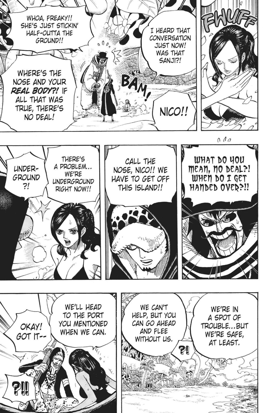 One Piece, Chapter 712 image 019