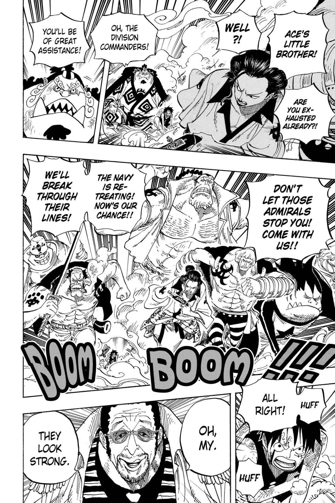 One Piece, Chapter 562 image 009