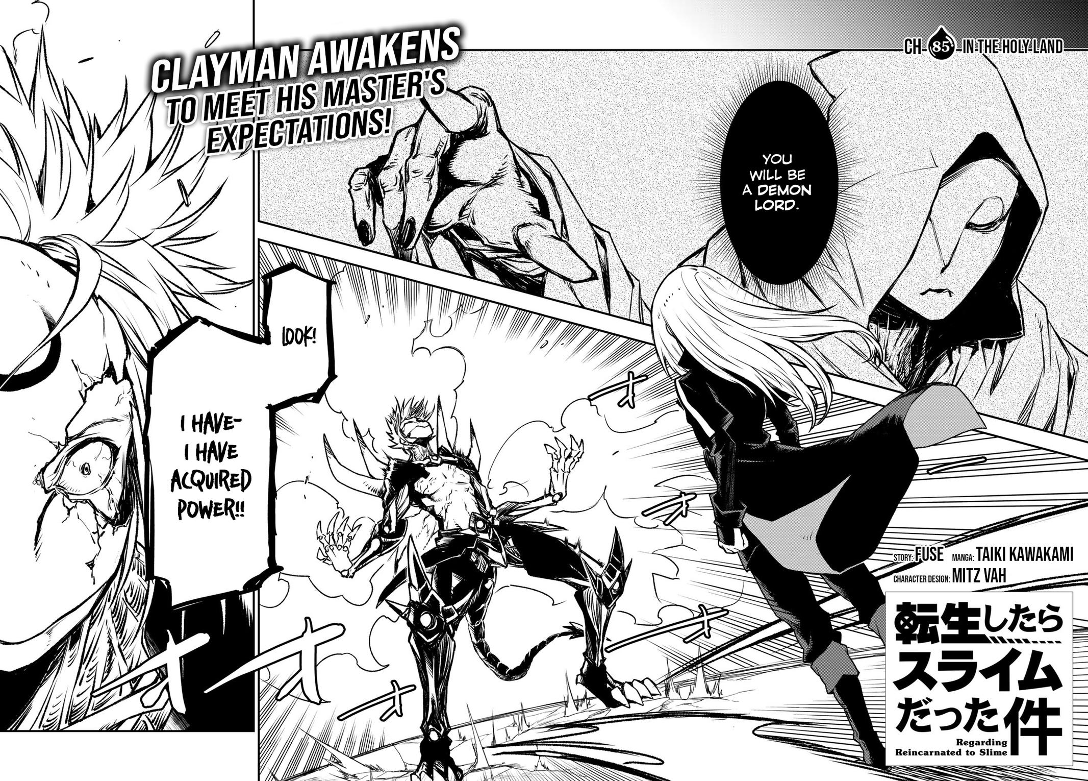 That Time I Got Reincarnated As A Slime, Chapter 85 image 002