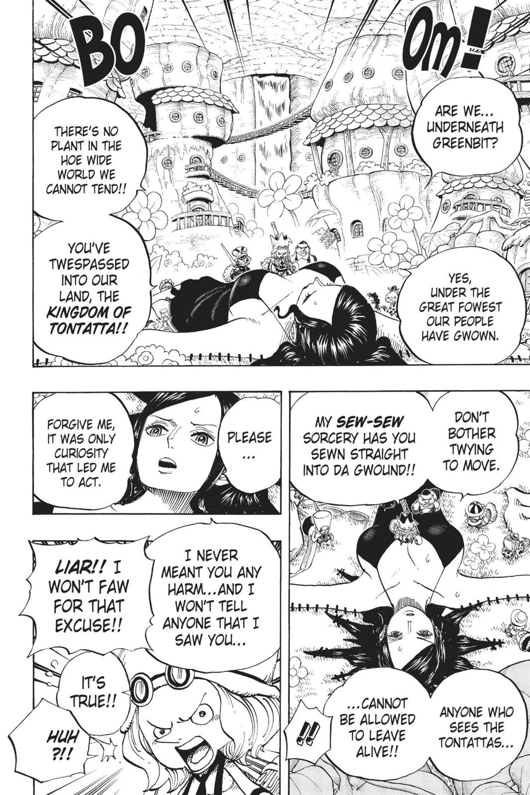 One Piece, Chapter 711 image 005