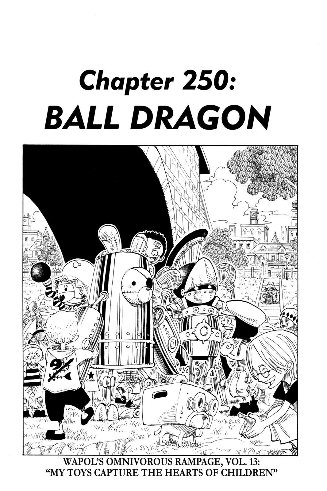 One Piece, Chapter 250 image 001