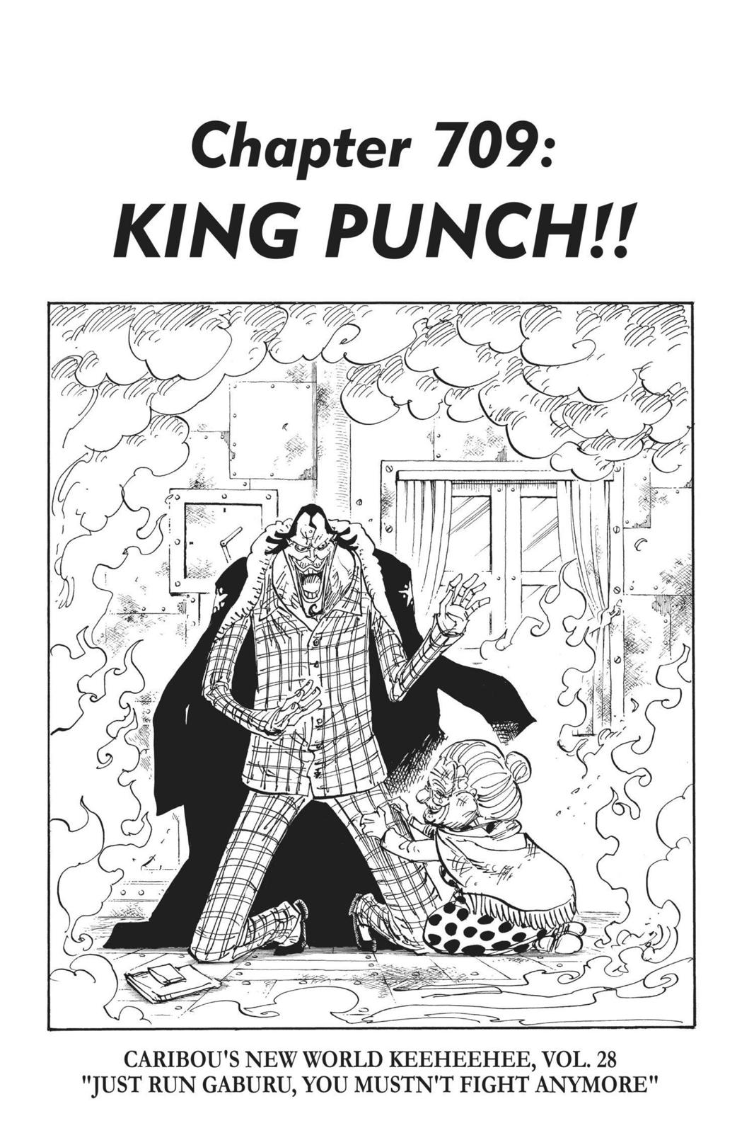 One Piece, Chapter 709 image 001