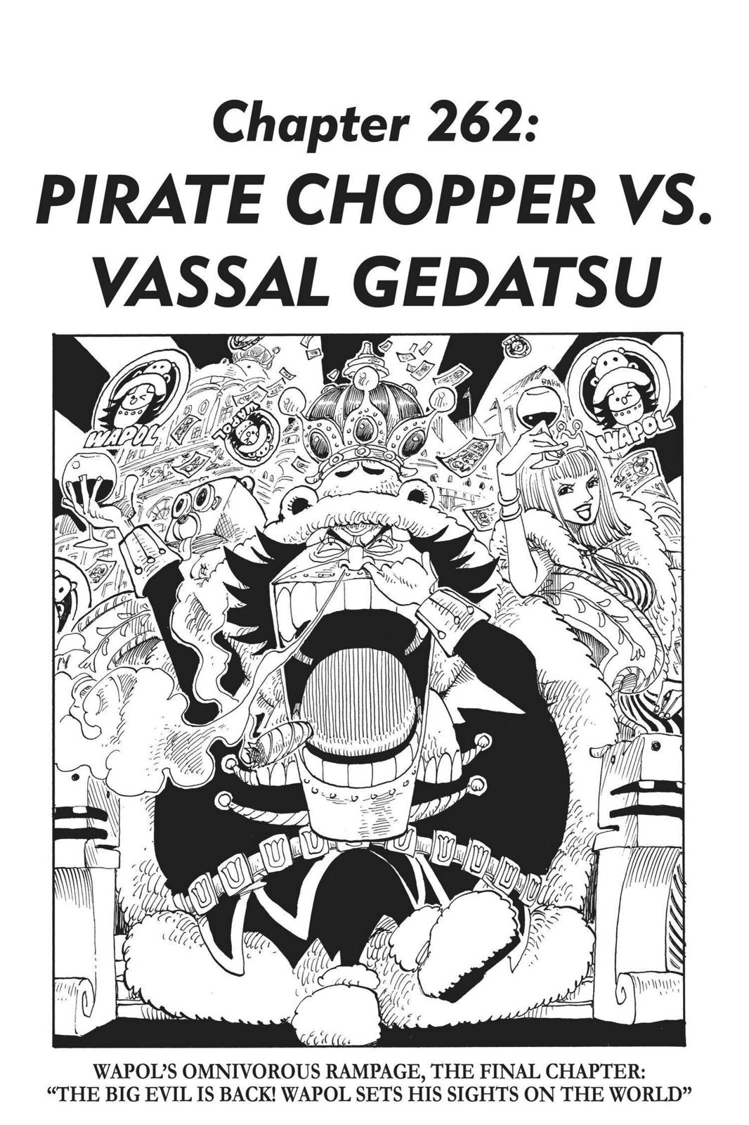 One Piece, Chapter 262 image 001