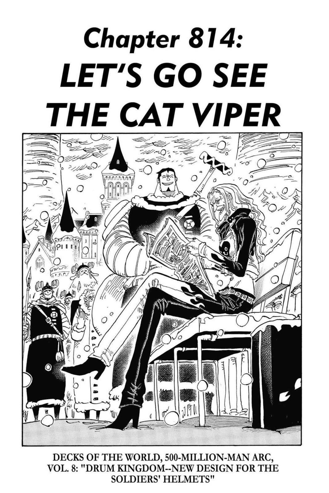 One Piece, Chapter 814 image 001
