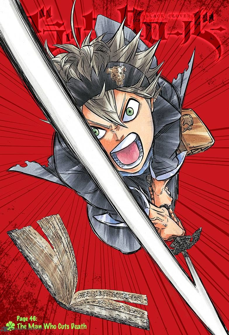 Black Clover, Chapter 46 The man who cuts death image 001