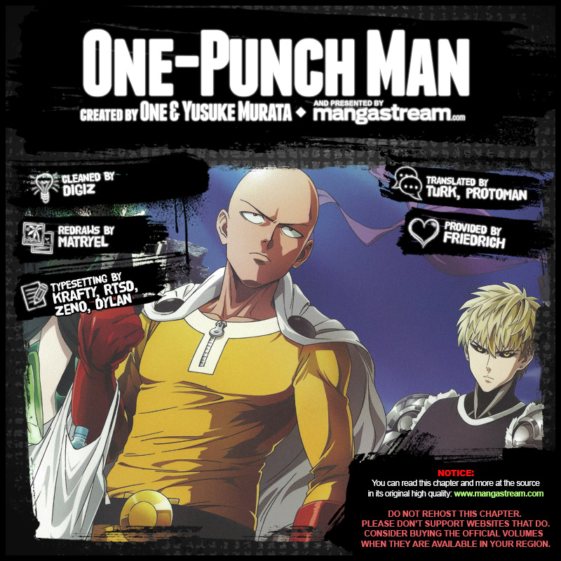 One Punch Man, Chapter Onepunch-Man 85 image 002