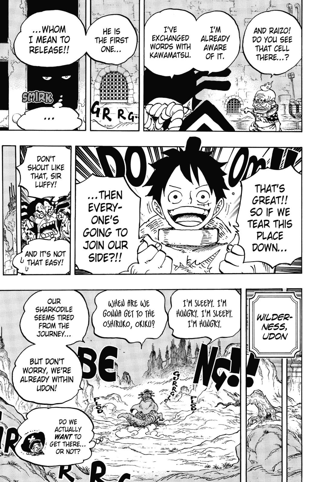 One Piece, Chapter 940 image 017