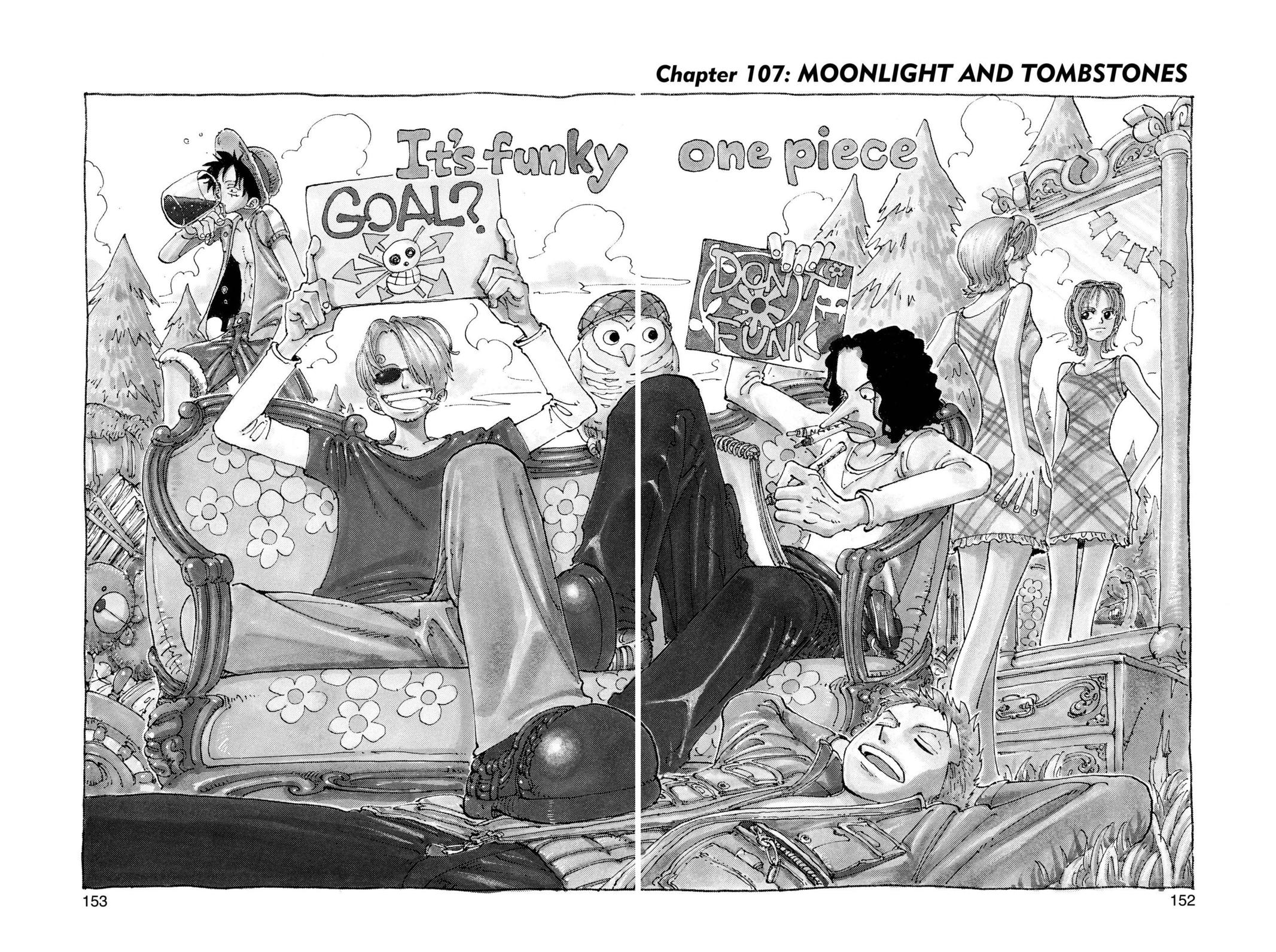 One Piece, Chapter 107 image 001
