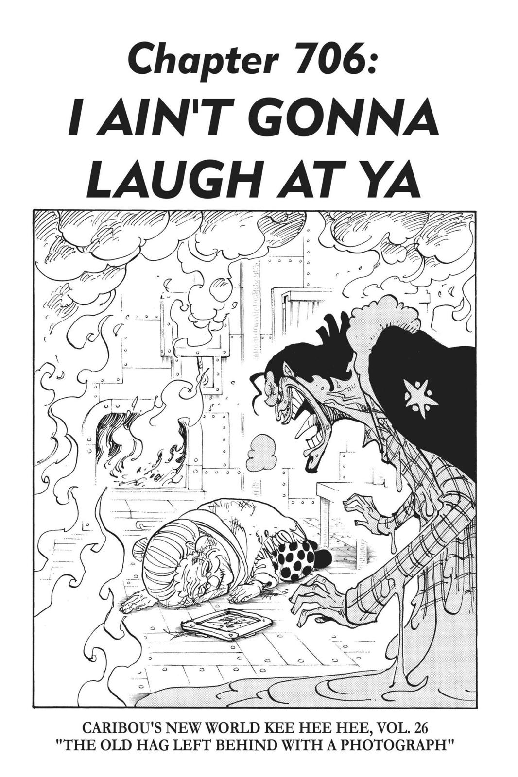 One Piece, Chapter 706 image 001