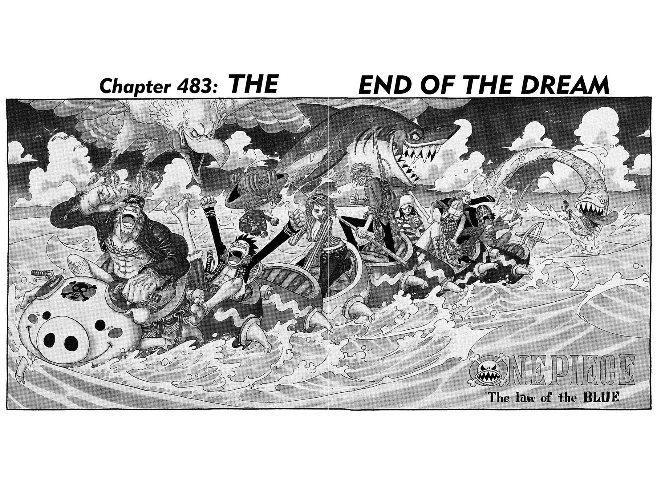 One Piece, Chapter 483 image 001