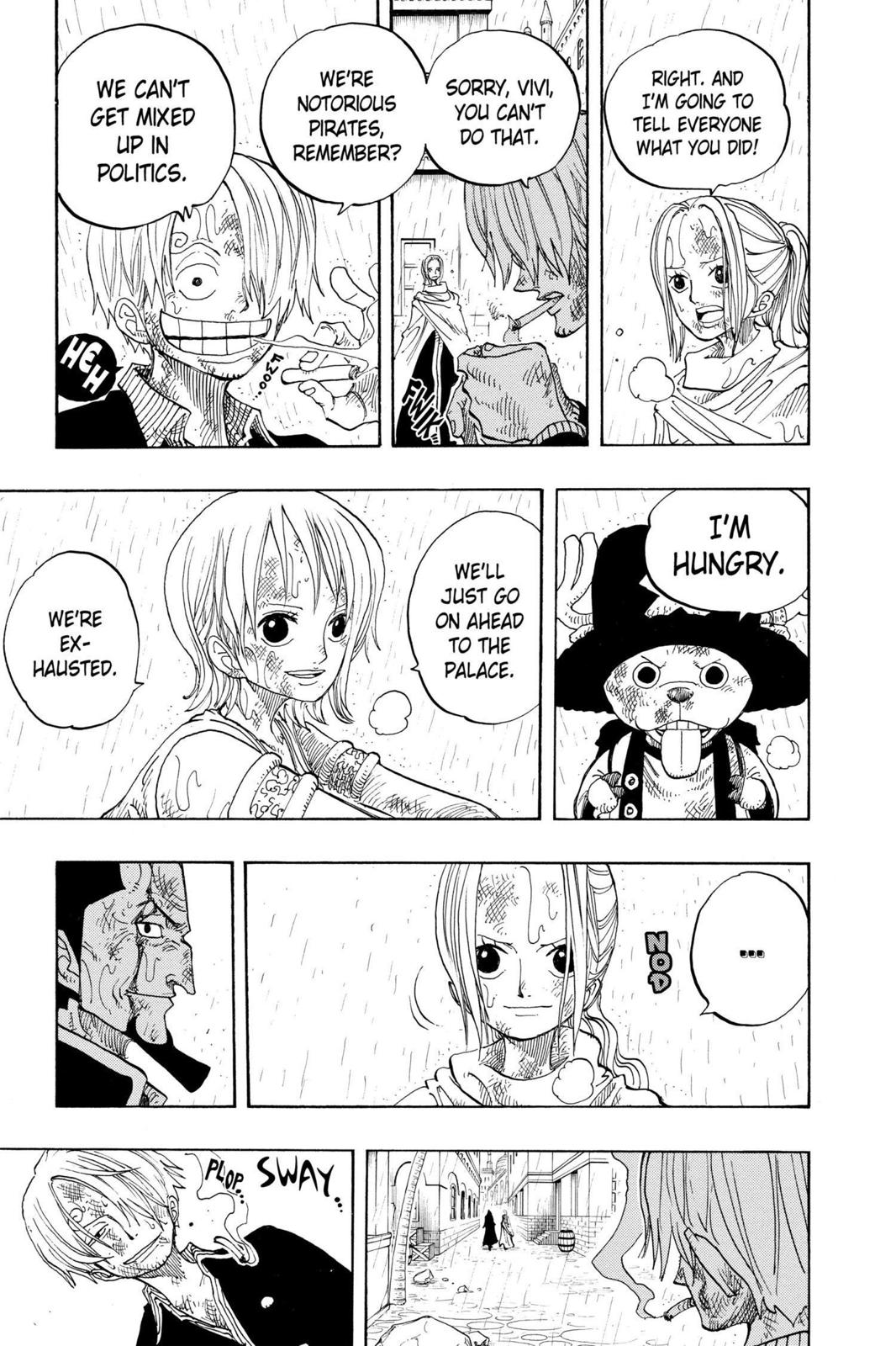 One Piece, Chapter 211 image 011