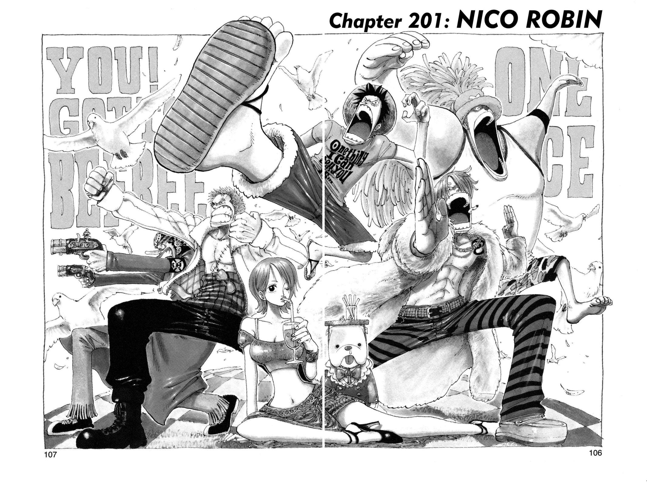 One Piece, Chapter 201 image 001