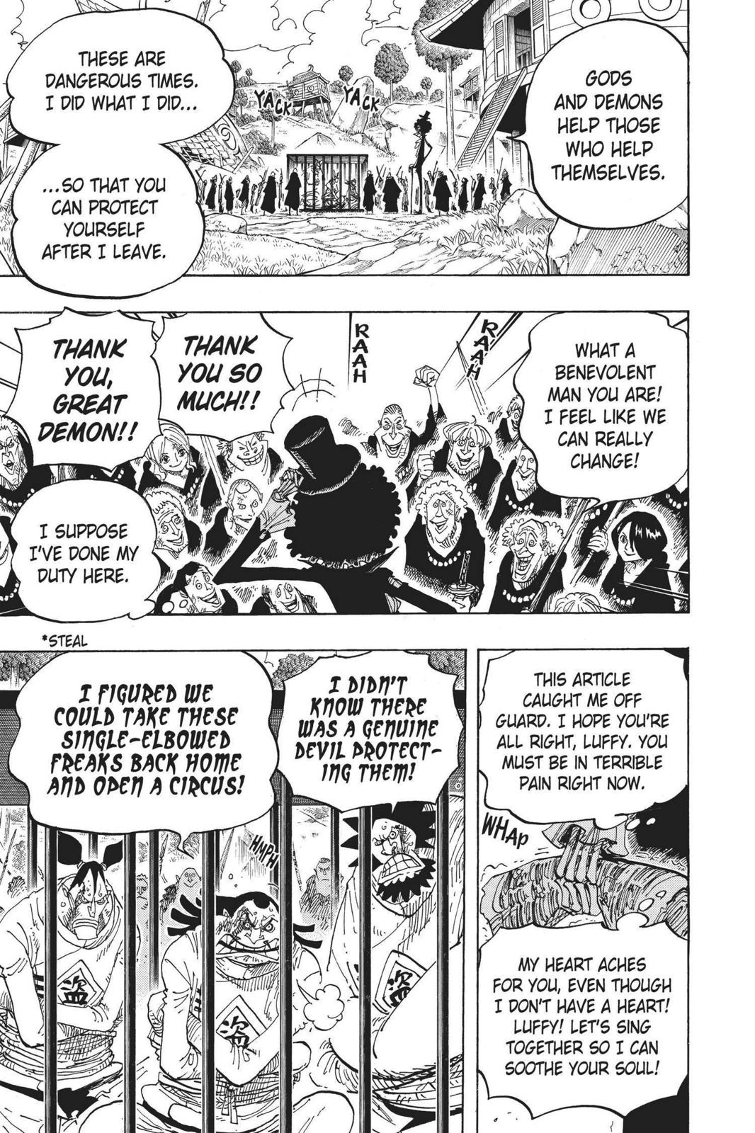 One Piece, Chapter 592 image 016