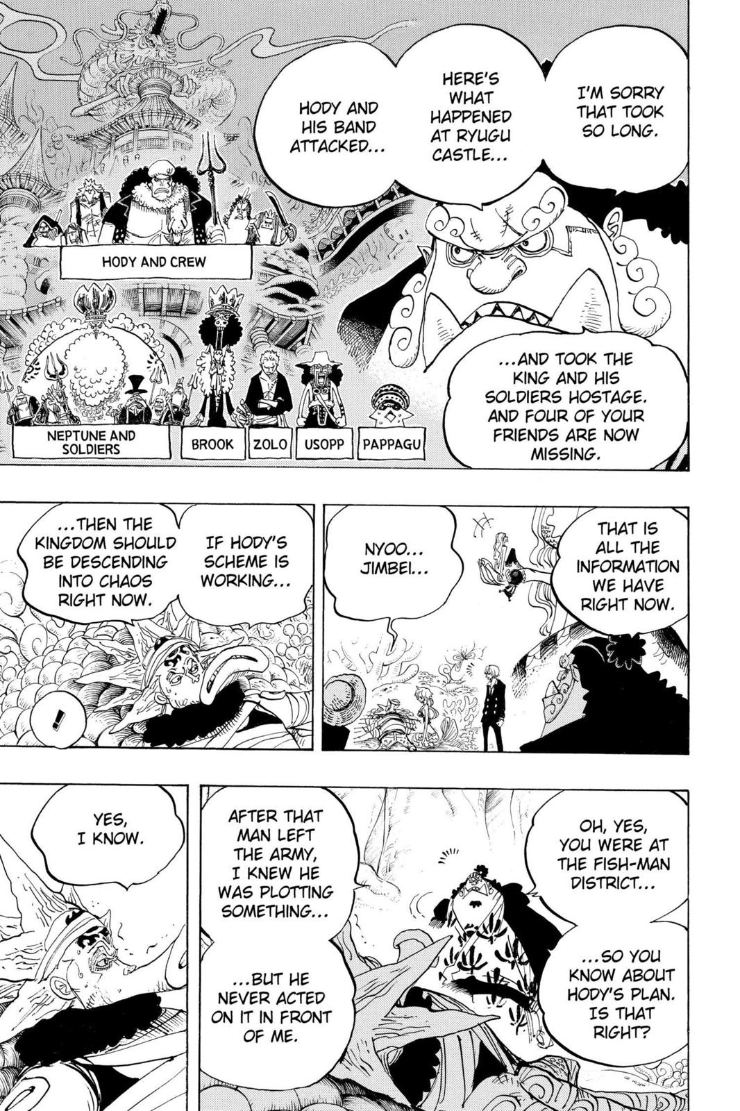 One Piece, Chapter 627 image 022