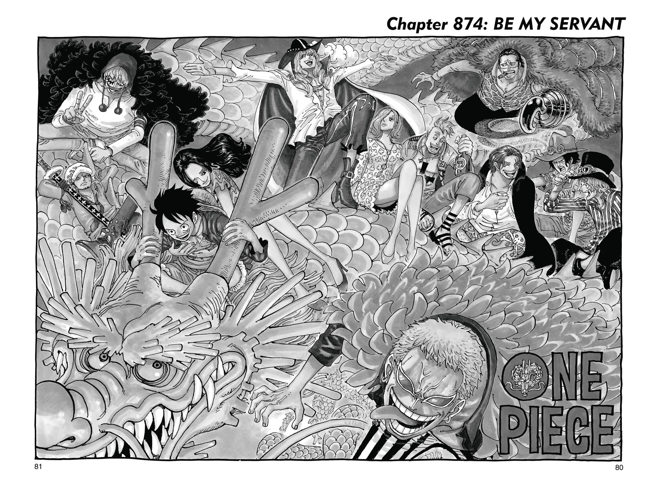 One Piece, Chapter 874 image 001