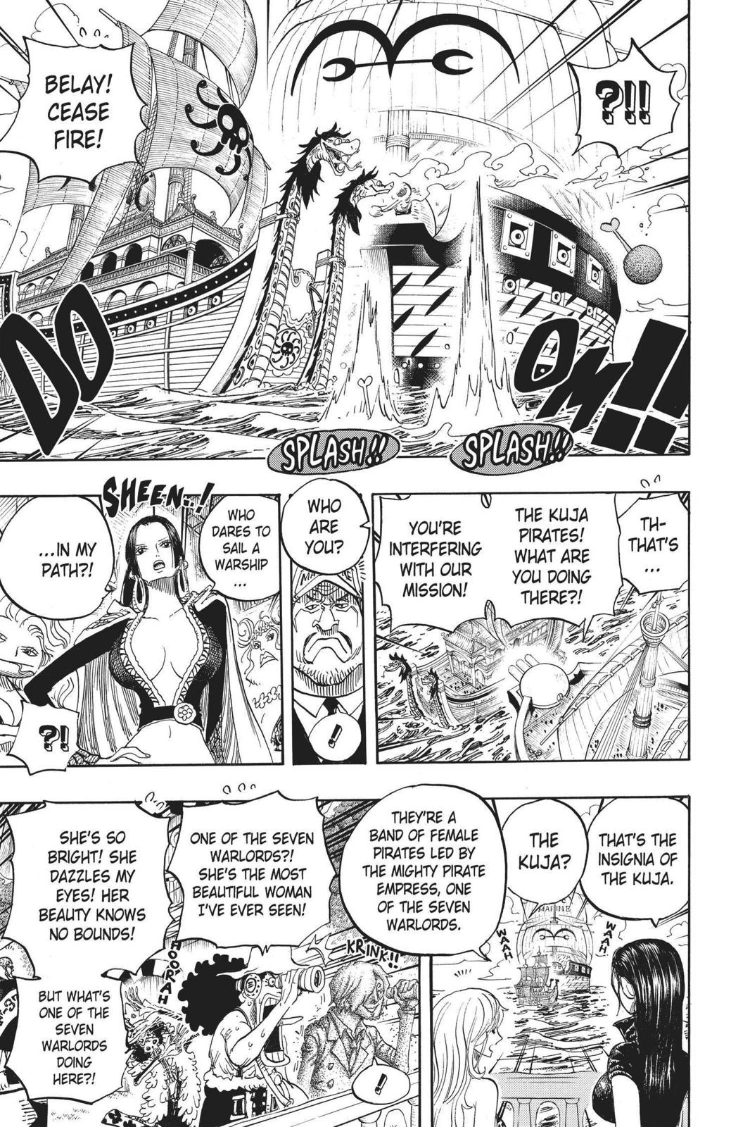 One Piece, Chapter 602 image 008