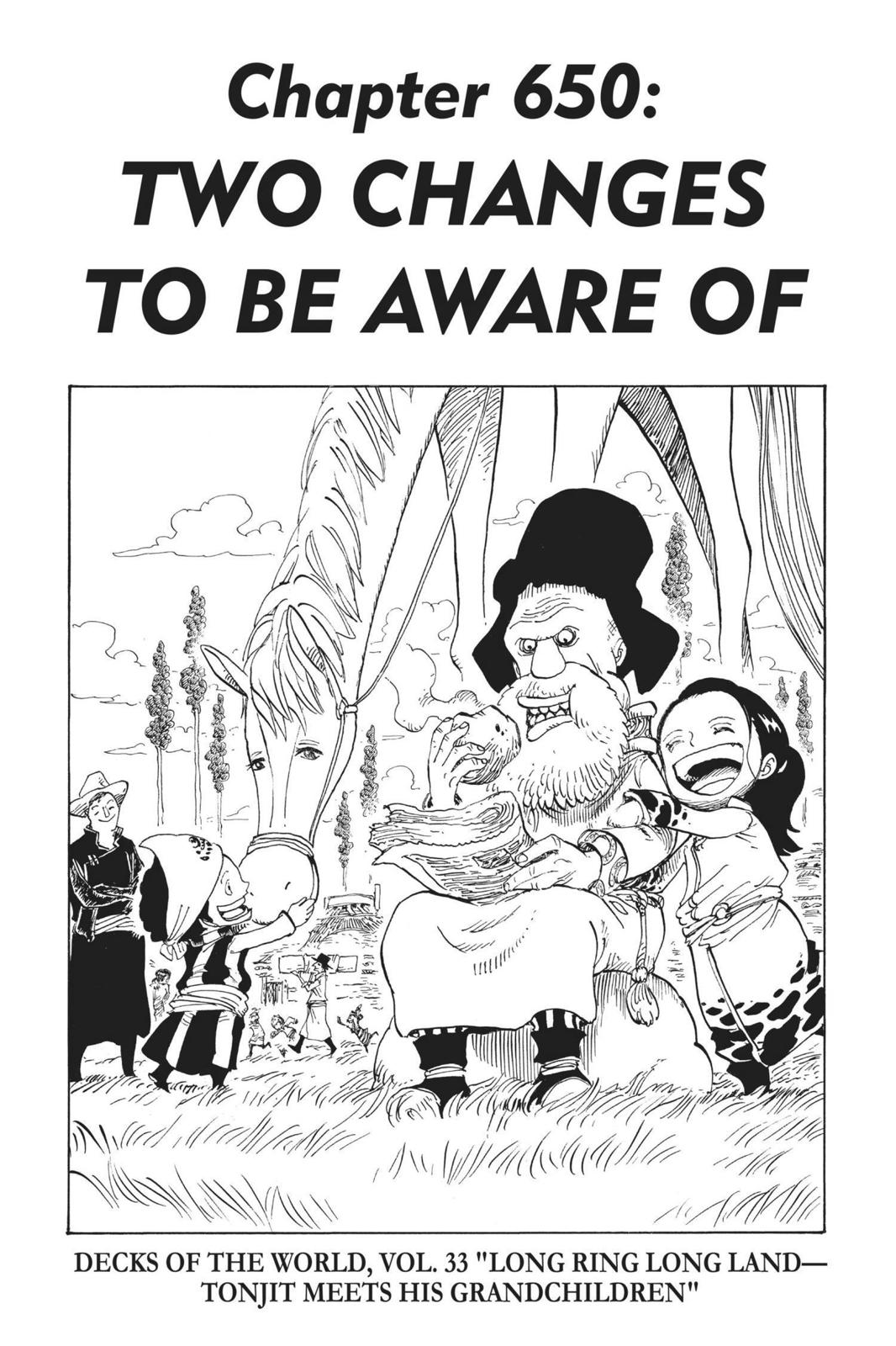 One Piece, Chapter 650 image 001