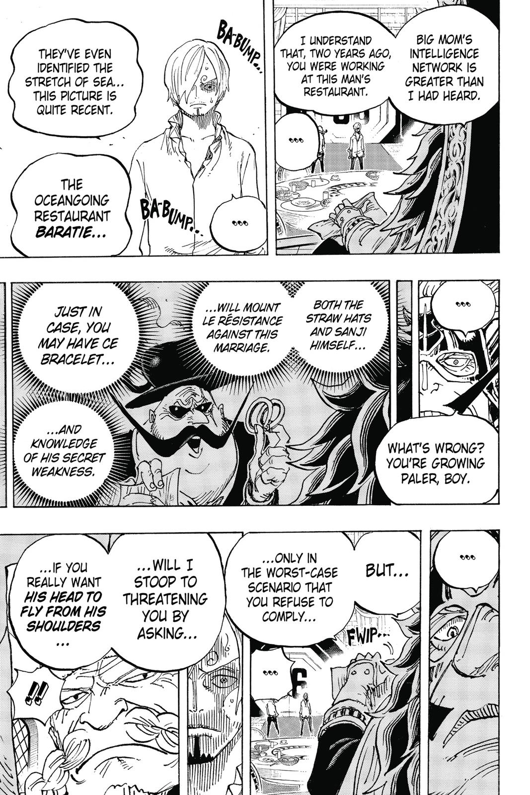 One Piece, Chapter 839 image 017
