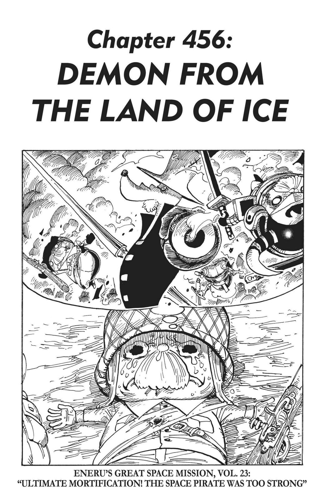 One Piece, Chapter 456 image 001