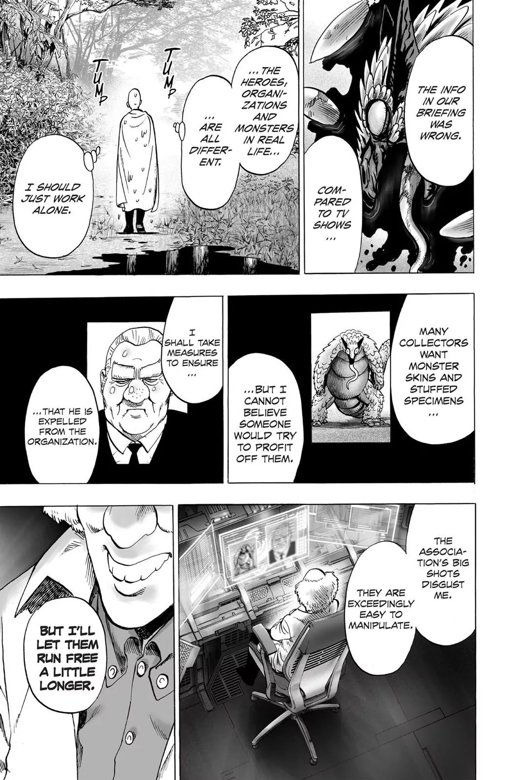One Punch Man, Chapter Onepunch-Man 61.5 image 028