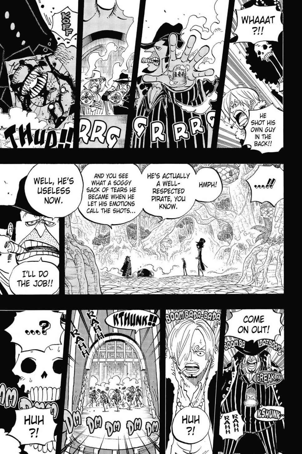 One Piece, Chapter 812 image 011