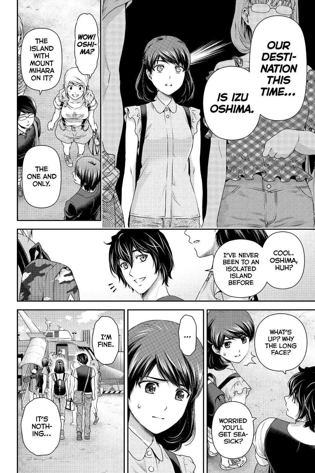 Domestic Na Kanojo, Chapter 93 image 012