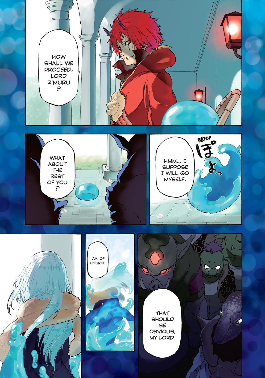 That Time I Got Reincarnated As A Slime, Chapter 1 image 004