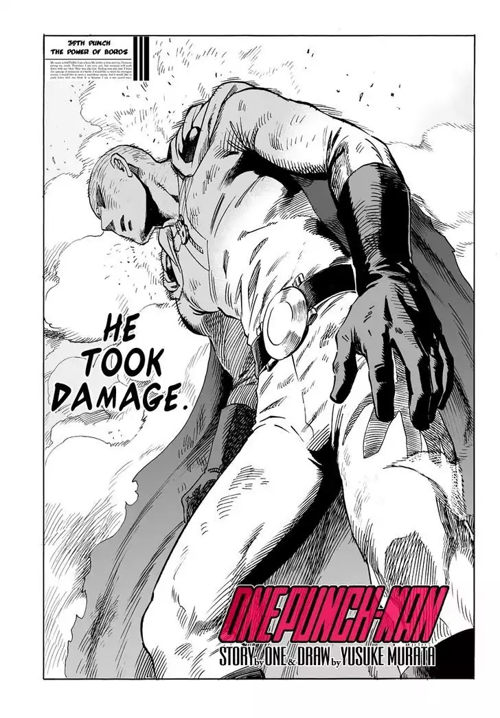 One Punch Man, Chapter Onepunch-Man 36 image 002