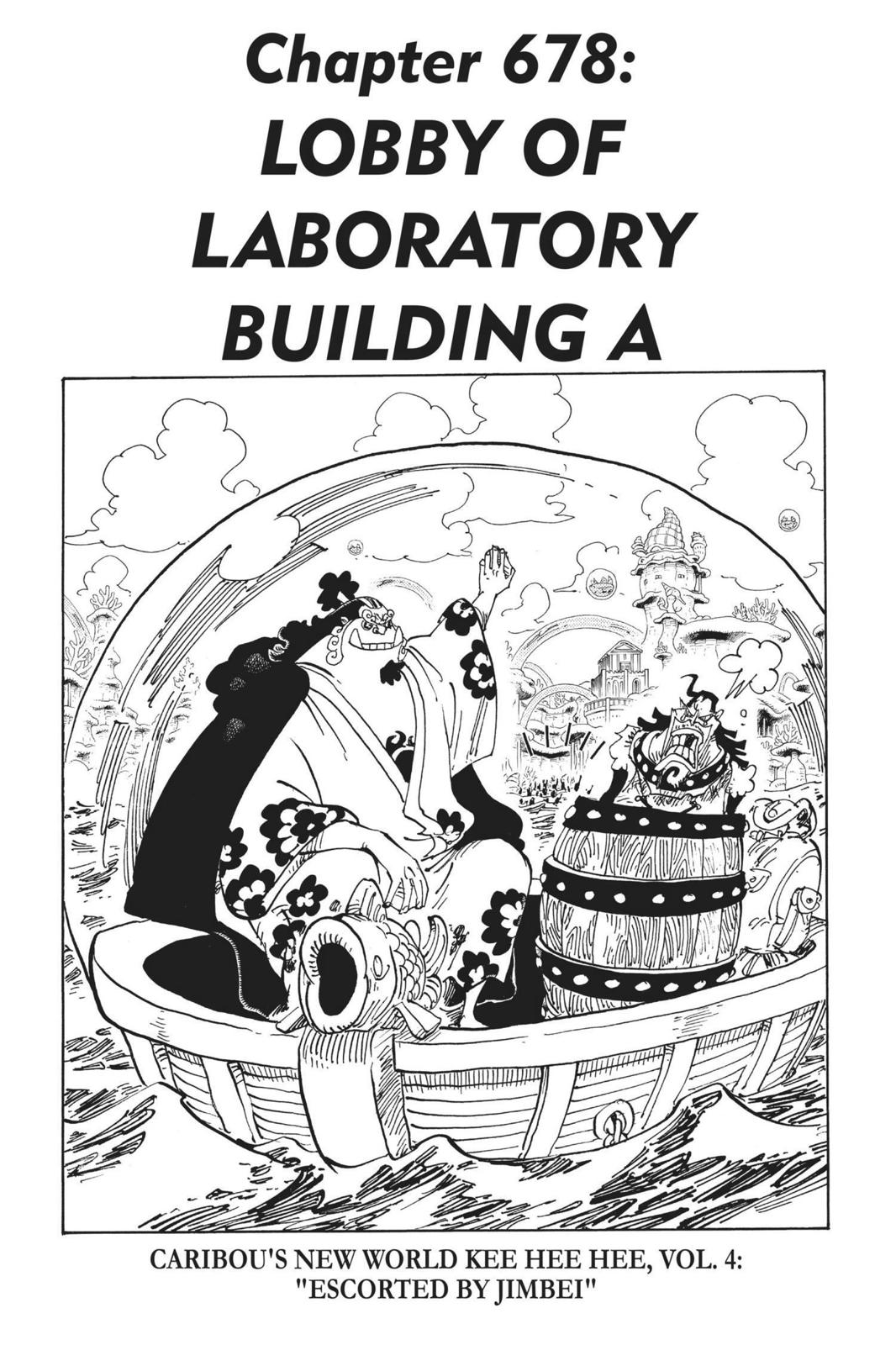 One Piece, Chapter 678 image 001