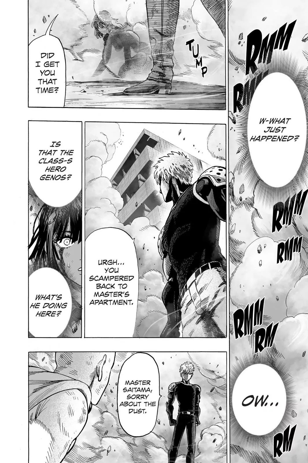 One Punch Man, Chapter Onepunch-Man 43 image 020