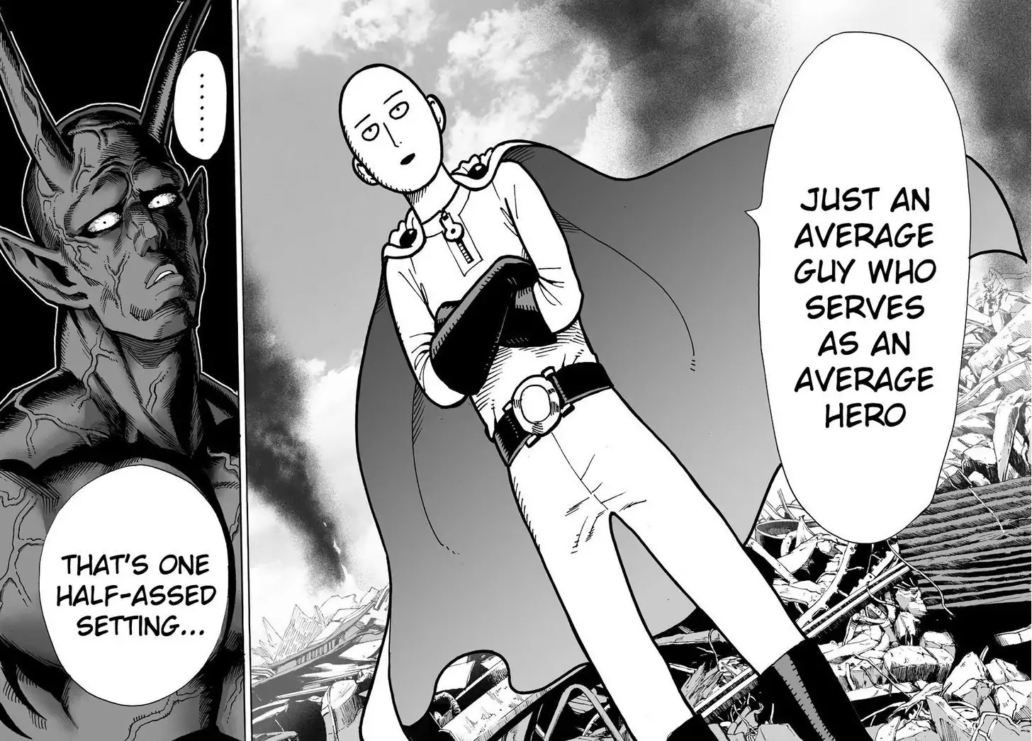 One Punch Man, Chapter Onepunch-Man 1 image 014