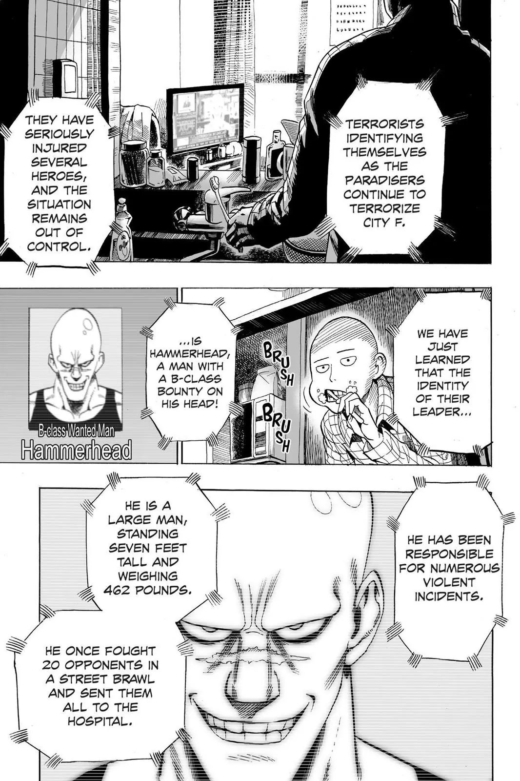 One Punch Man, Chapter Onepunch-Man 12 image 013