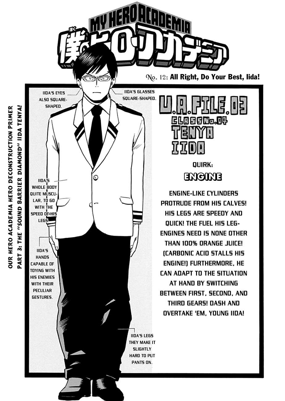 My Hero Academia, Chapter 12 image 004