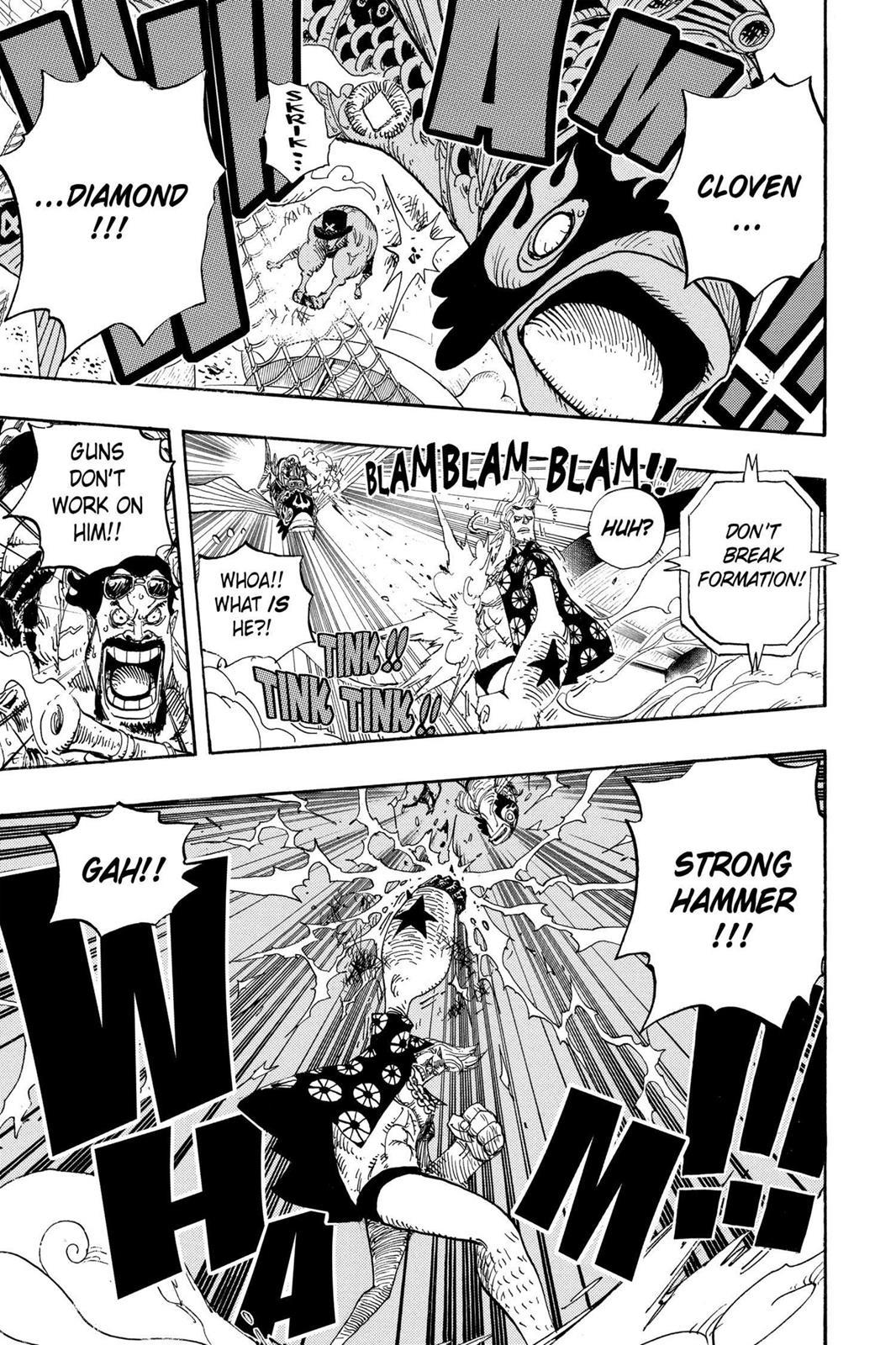 One Piece, Chapter 494 image 007