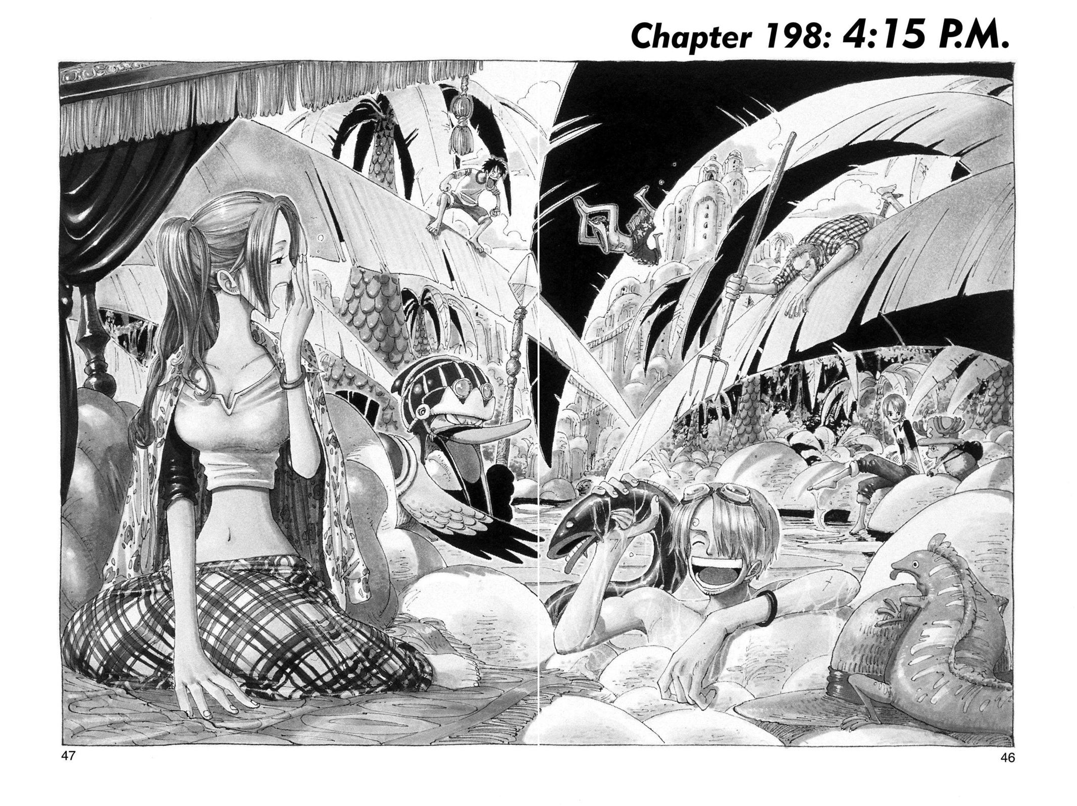 One Piece, Chapter 198 image 001