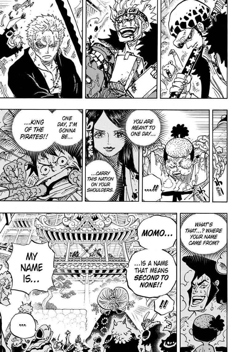 One Piece, Chapter 986 image 010