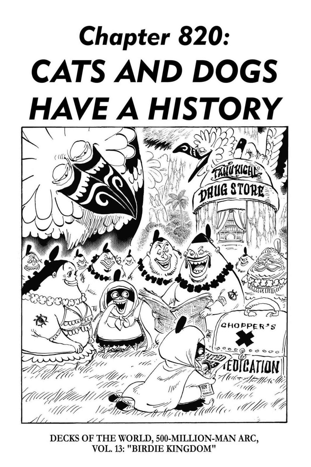 One Piece, Chapter 820 image 001