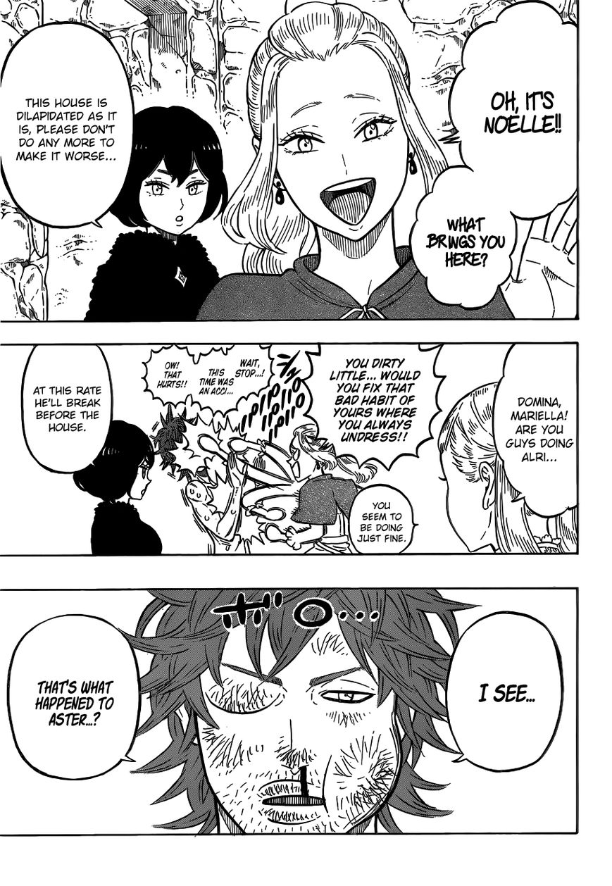 Black Clover, Chapter 82 The Witch's Forest image 004