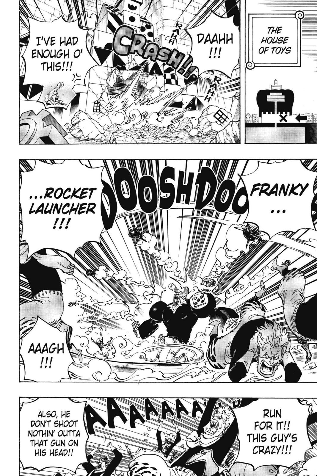 One Piece, Chapter 735 image 008