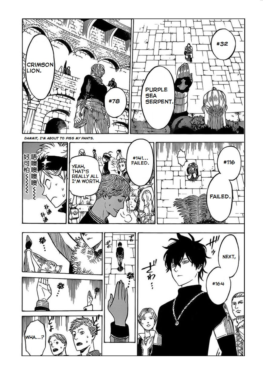 Black Clover, Chapter 3 The Road to the Magic Emperor image 007